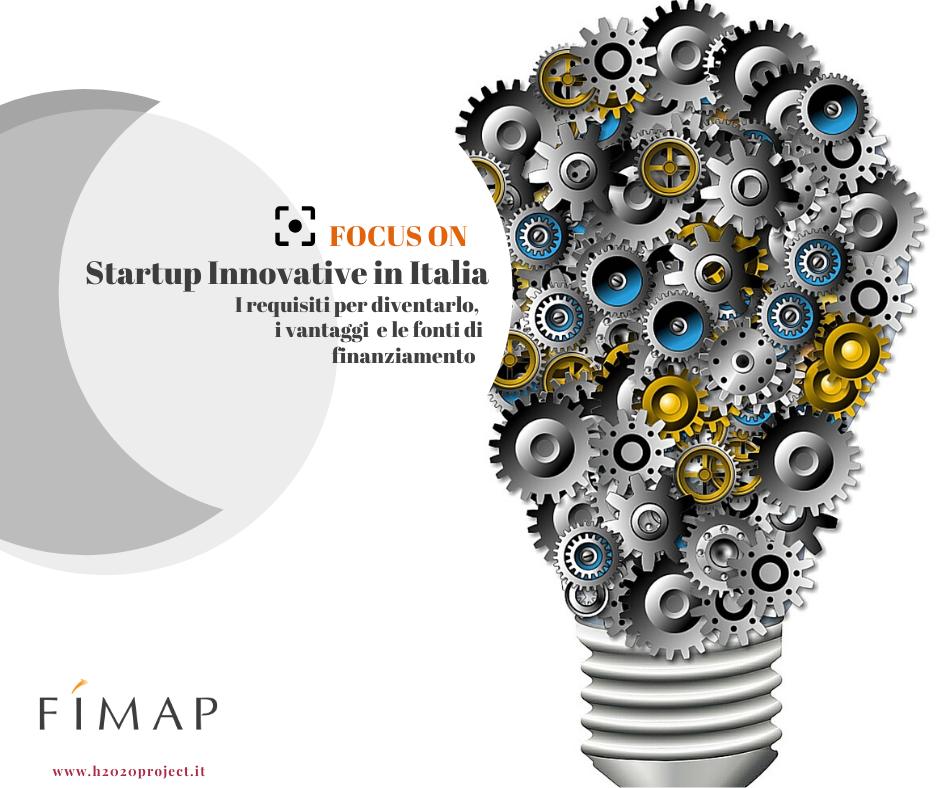 startup innovative requisiti vantaggi finanziamenti