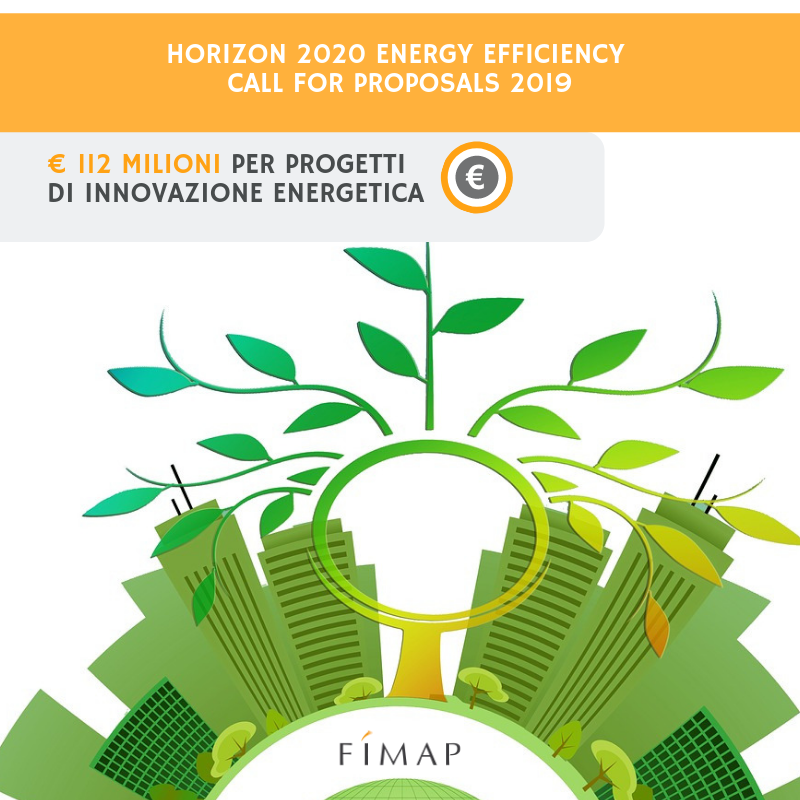 Horizon 2020 Call efficienza energetica 2019