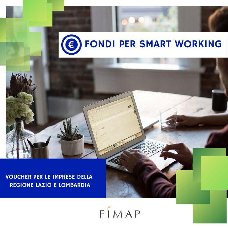Contributi per piani di smart working in Lombardia e Lazio