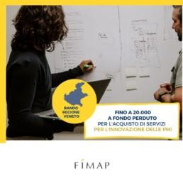 contributi a fondo perduto in Veneto per l'acquisto di servizi per l'innovazione delle PMI