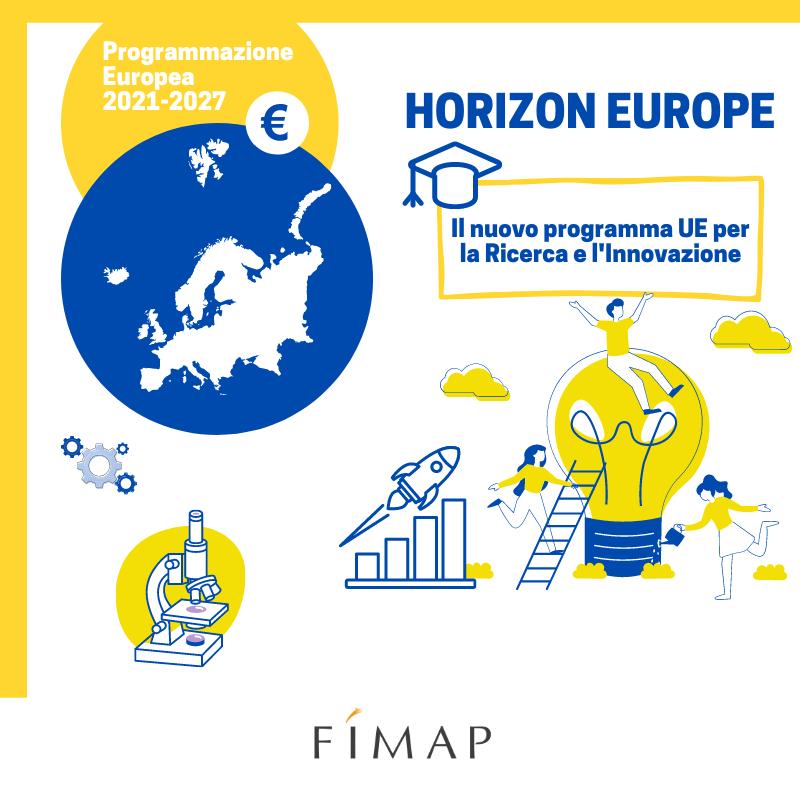 Horizon Europe Programam Europeo 2021-2027 per la Ricerca e l'Innovazione