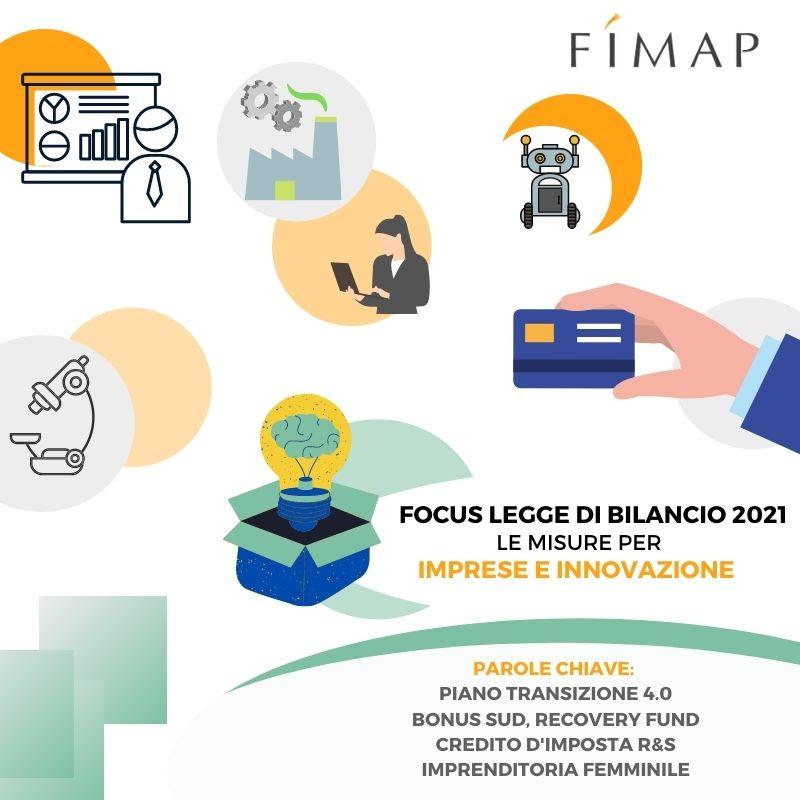 Legge di Bilancio 2021 le misure per imprese e innovazione