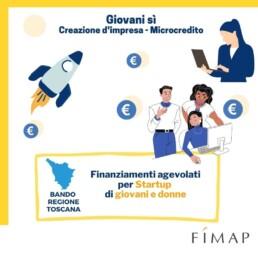 Bando toscana 2021 microcredito per startup giovani e donne
