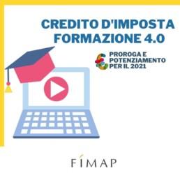 Credito imposta FORMAZIONE 4.0