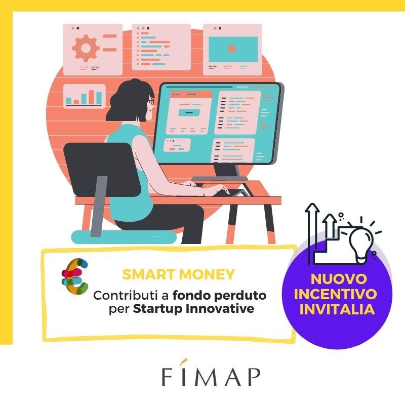 Smart Money nuovo incentivo invitalia per startup innovative