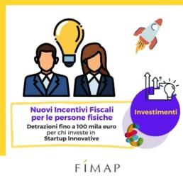 agevolazioni fiscali per chi investe in startup innovative