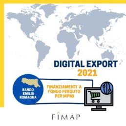 Bando Digital Export 2021 Emilia Romagna