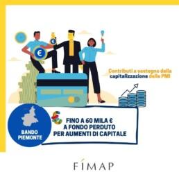 Bando Piemonte: contributi a fondo perduto per la capitalizzazione delle PMI