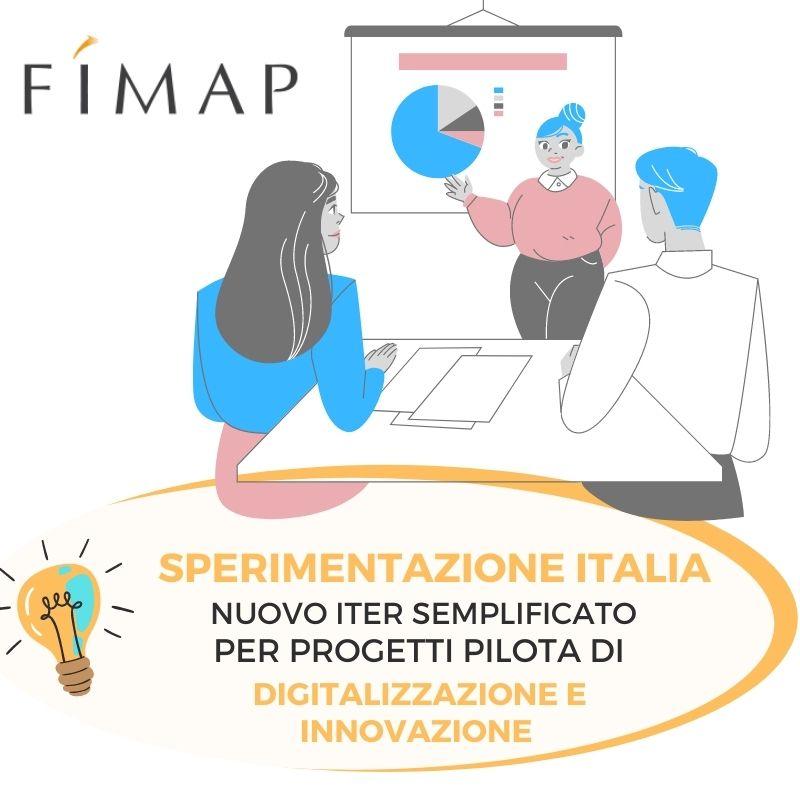 iter semplificato per sperimentazione progetti innovativi
