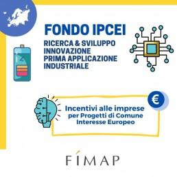 Fondo IPCEI incentivi ricerca sviluppo innovazione