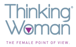 Thinking-woman logo
